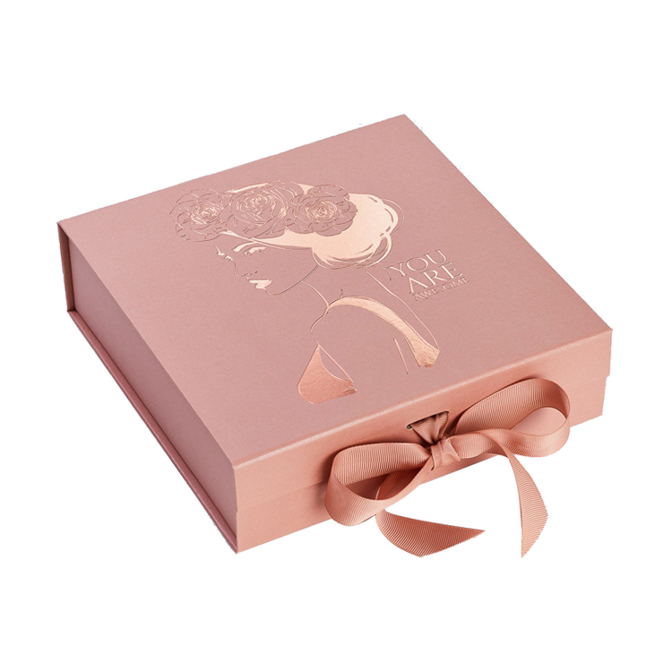 Wholesale A5 Deep Folding Gift Boxes and Luxury Gift Packaging in A5 Deep Size with Hot Foil Stamping Logo