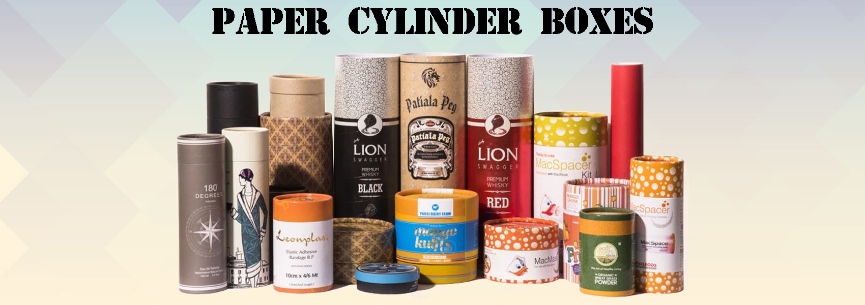 Paper Cylinder Boxes, Paper Rounder Boxes, Paper Tube Boxes