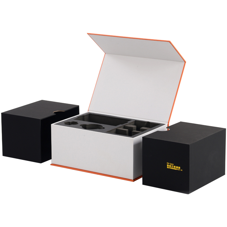 Custom Consumer Electronics Packaging Gift Box with Magnetic Closure and EVA holder