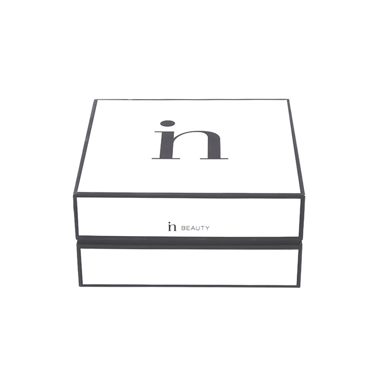 Custom Lid and Base Top and Bottom Box 2 Piece Lid Off Shoulder Neck Rigid Set Up Cardboard Paper Gift Packaging Box with Lid