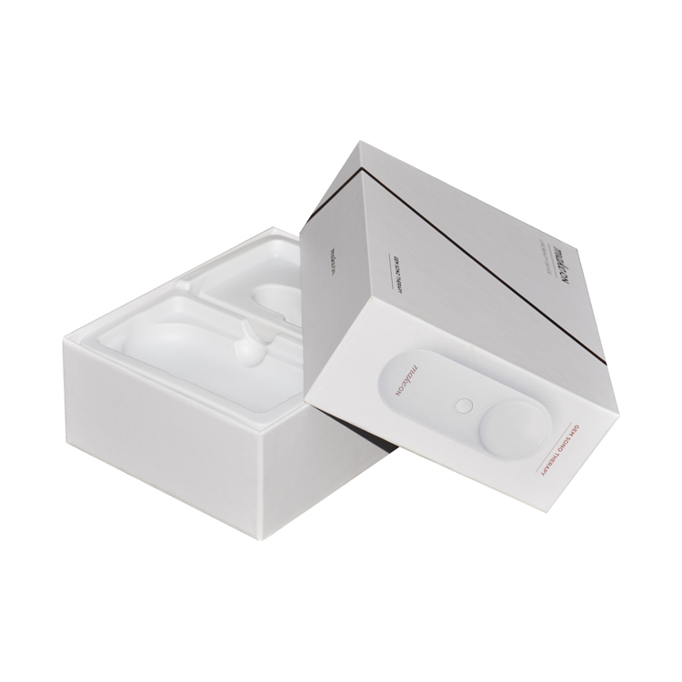 Recyclable Custom Lid and Base Paper Gift Box 2 Pieces Packaging Box with Lid for Consumer Electronics