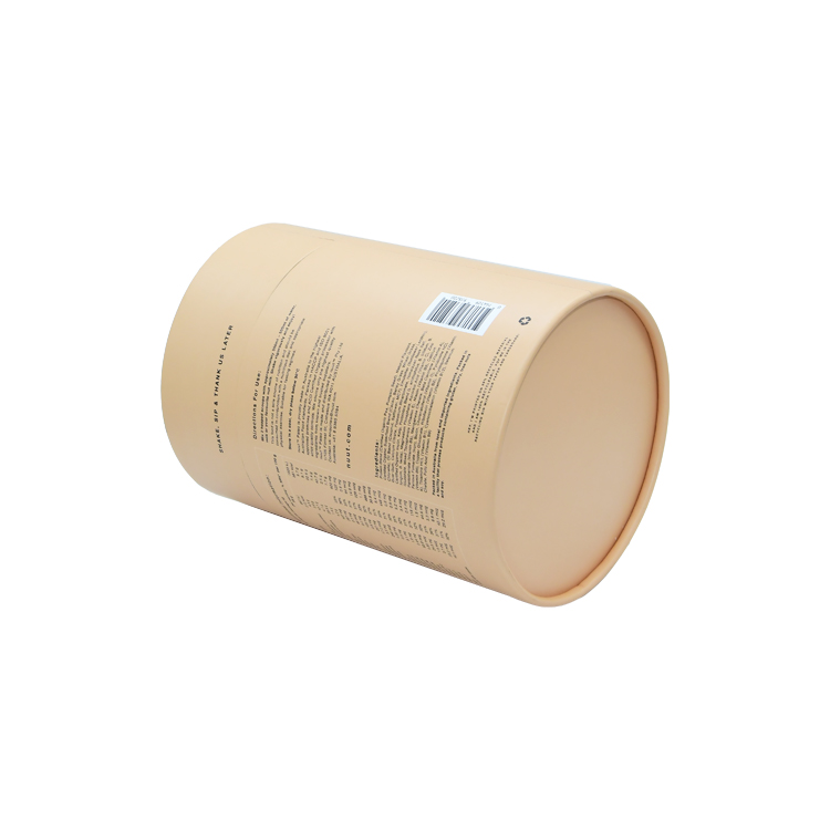 Wholesale Luxury Custom Paper Round Box Coffee Power Packaging Paper Tube Box at Cheapest Price