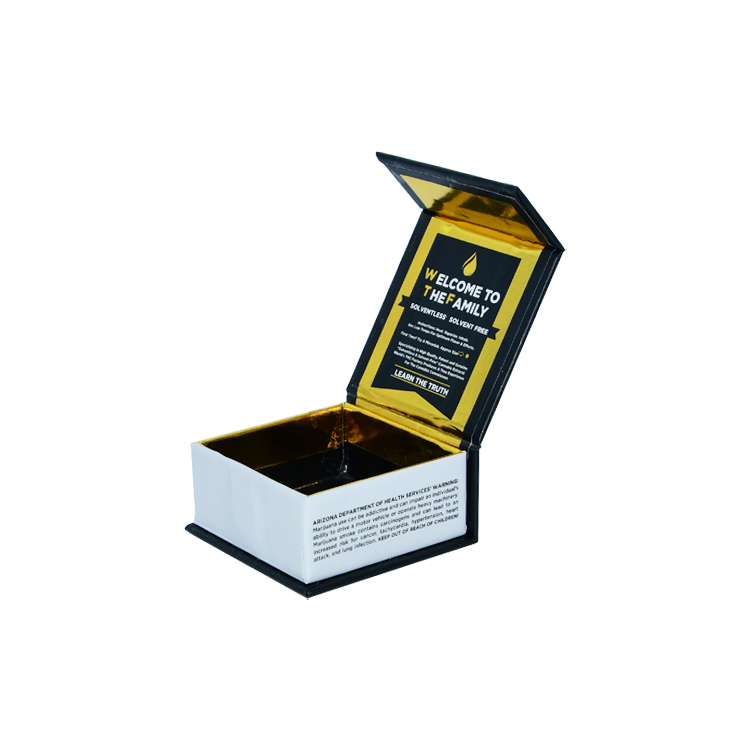 Luxury Magnetic Gift Box for Marijuana Packaging Cannabis Packaging and Wax Packaging